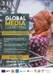 The 2017 Global Media Competition on Labour Migration