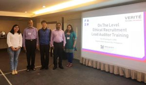 MFA Participates in Ethical Recruitment Lead Auditor Course