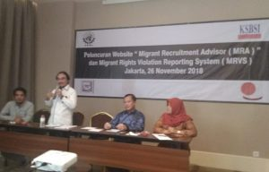 Indonesia Launch of the Hamsa Complaints Mechanism and Migrant Recruitment Advisor
