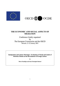 OECD - Report on Recruitment 2003