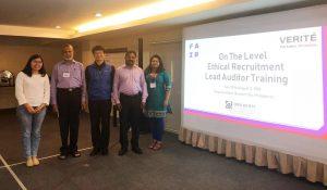 MFA Participates in Ethical Recruitment Lead Auditor Course