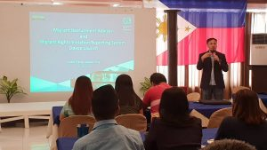 Philippine Launch of Migrant Recruitment Advisor and HAMSA Complaints Mechanism