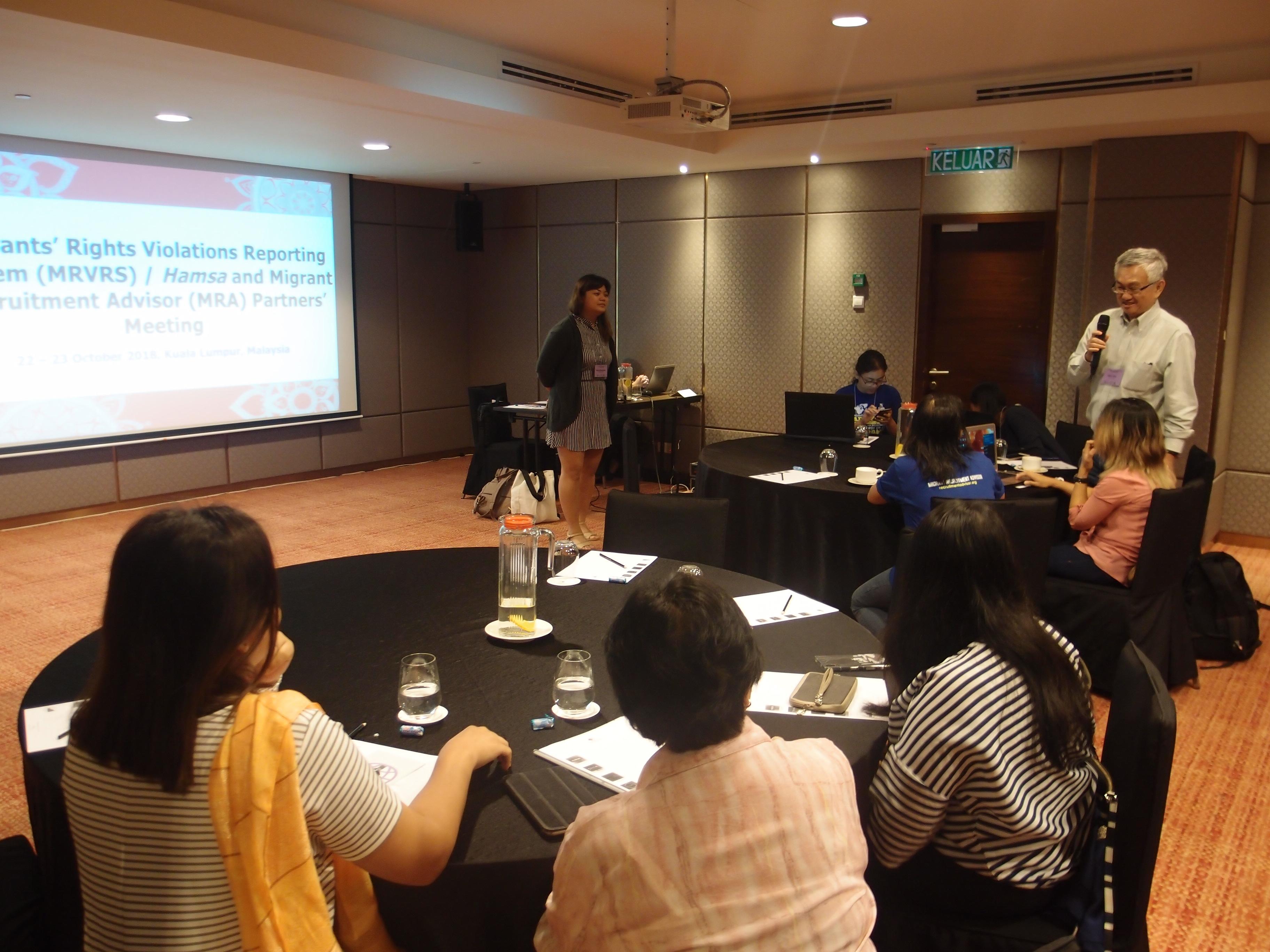 Hamsa complaints mechanism and Migrant Recruitment Advisor