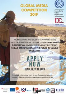 The 2019 Global Media Competition on Fair Recruitment and the Future of Migration